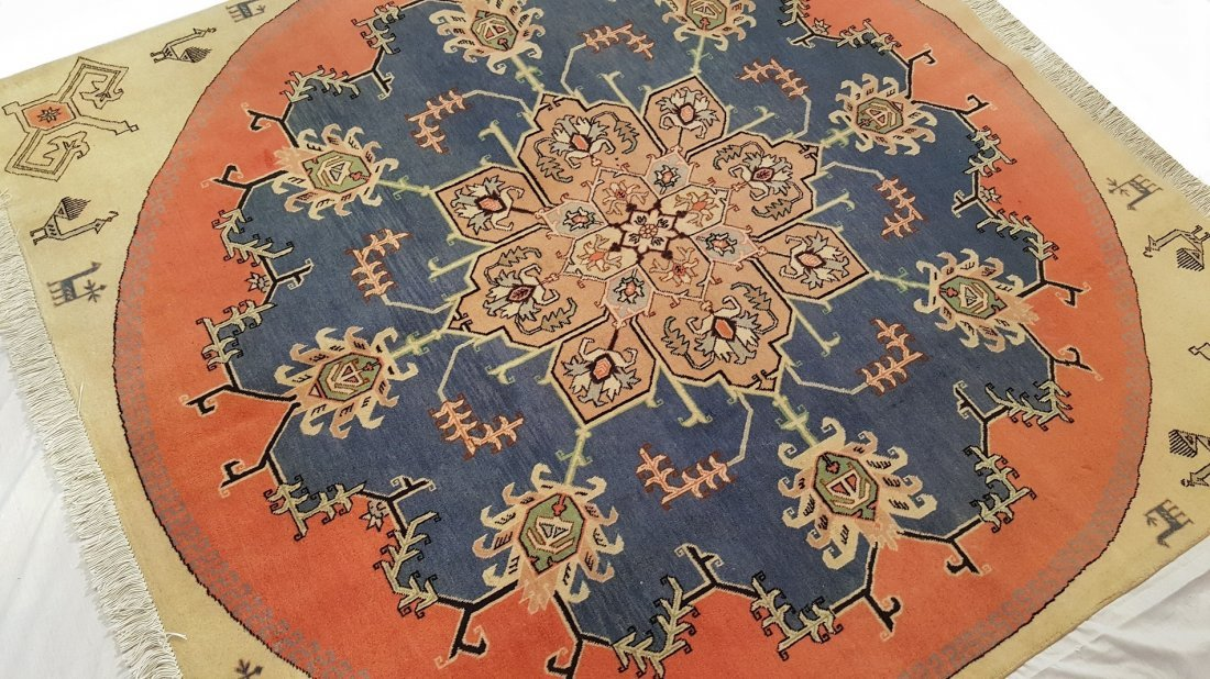 Fine Persian Ardabil Rug Carpet - 4