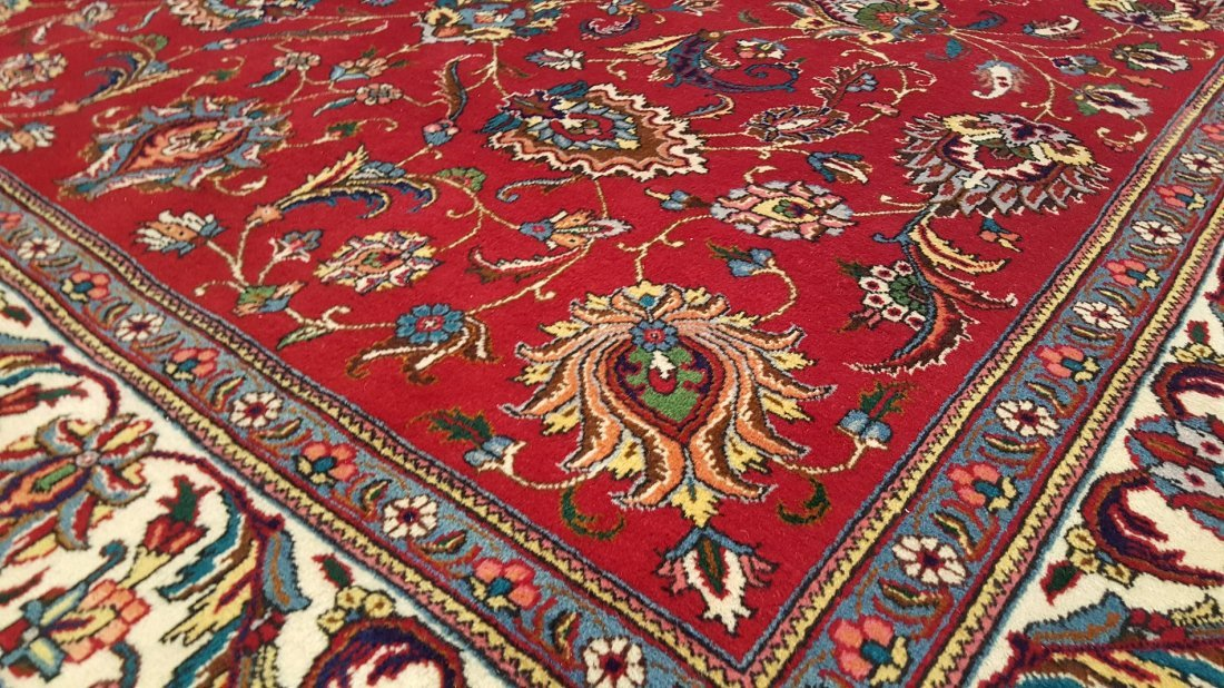 Fine Persian TABRIZ Rug Carpet - 4