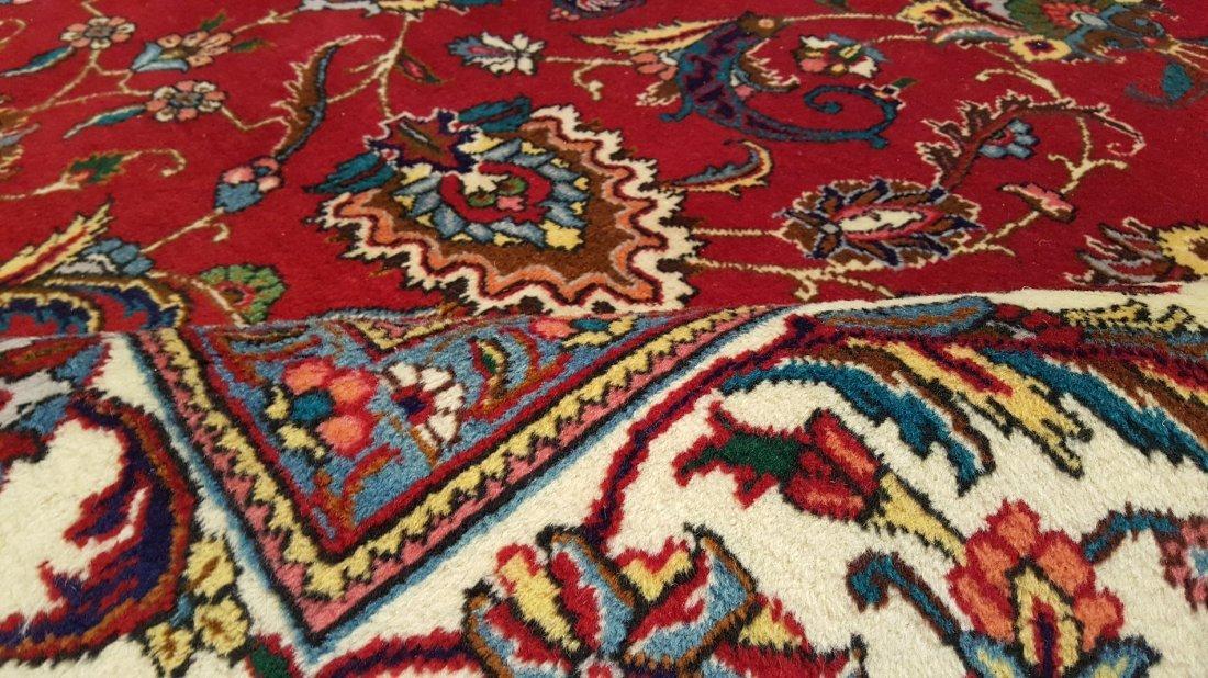 Fine Persian TABRIZ Rug Carpet - 5