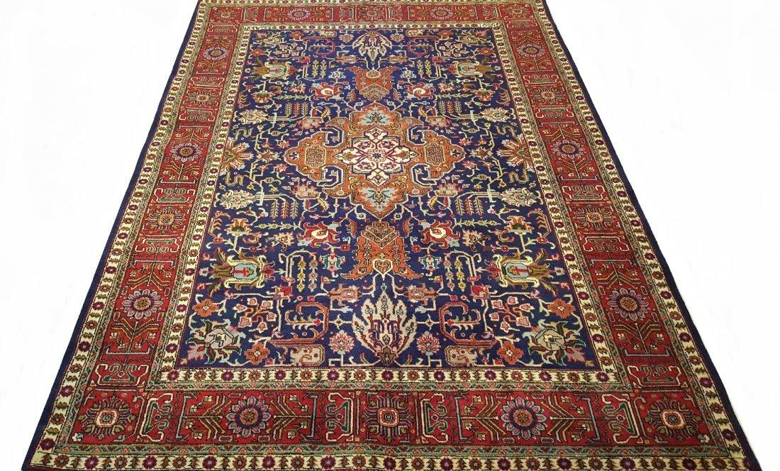 Fine Vintage Persian TABRIZ Rug Carpet - 2