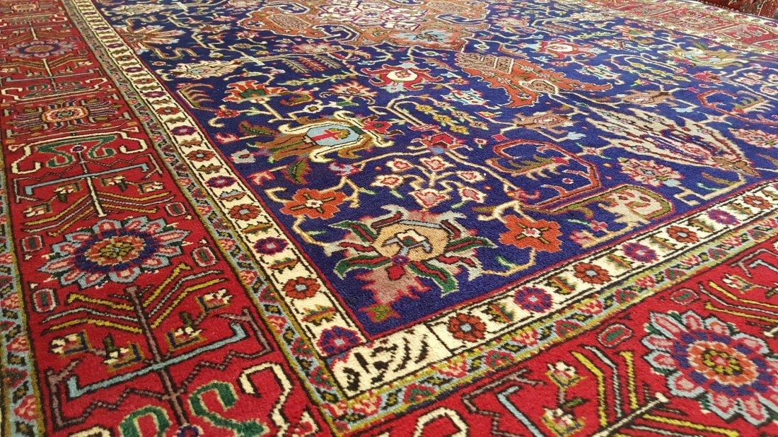 Fine Vintage Persian TABRIZ Rug Carpet - 5