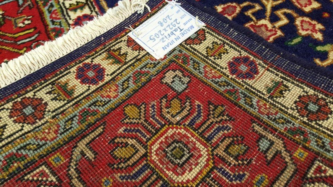 Fine Vintage Persian TABRIZ Rug Carpet - 6