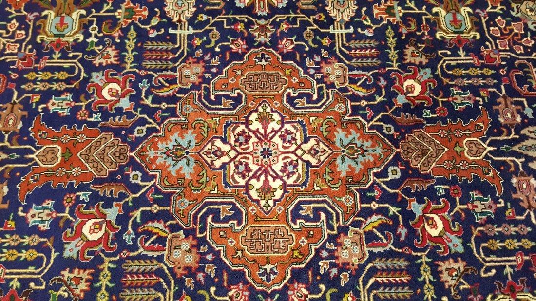 Fine Vintage Persian TABRIZ Rug Carpet - 7