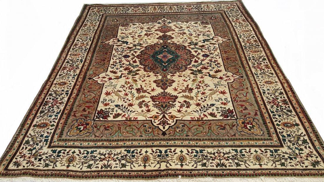 Fine Persian Sarouk Rug Carpet