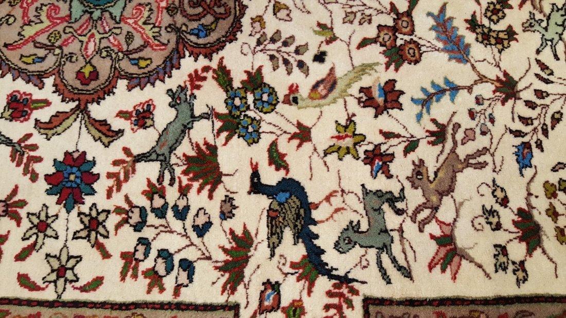 Fine Persian Sarouk Rug Carpet - 3