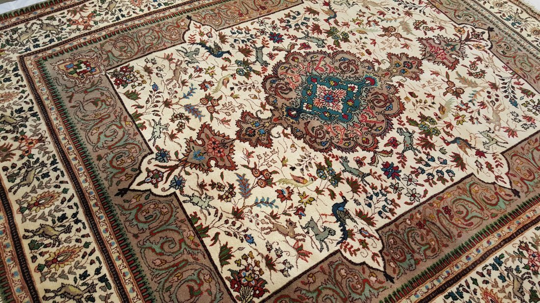 Fine Persian Sarouk Rug Carpet - 4