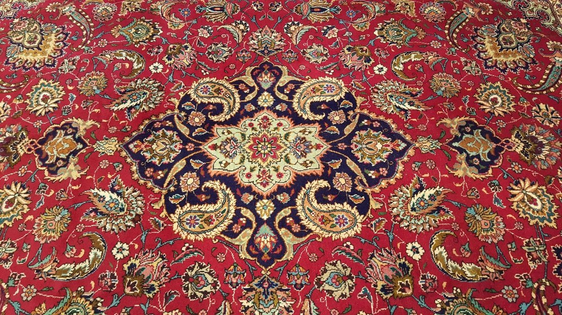 Fine Persian TABRIZ Rug Carpet - 3