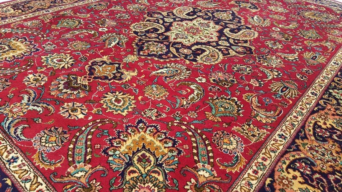 Fine Persian TABRIZ Rug Carpet - 7