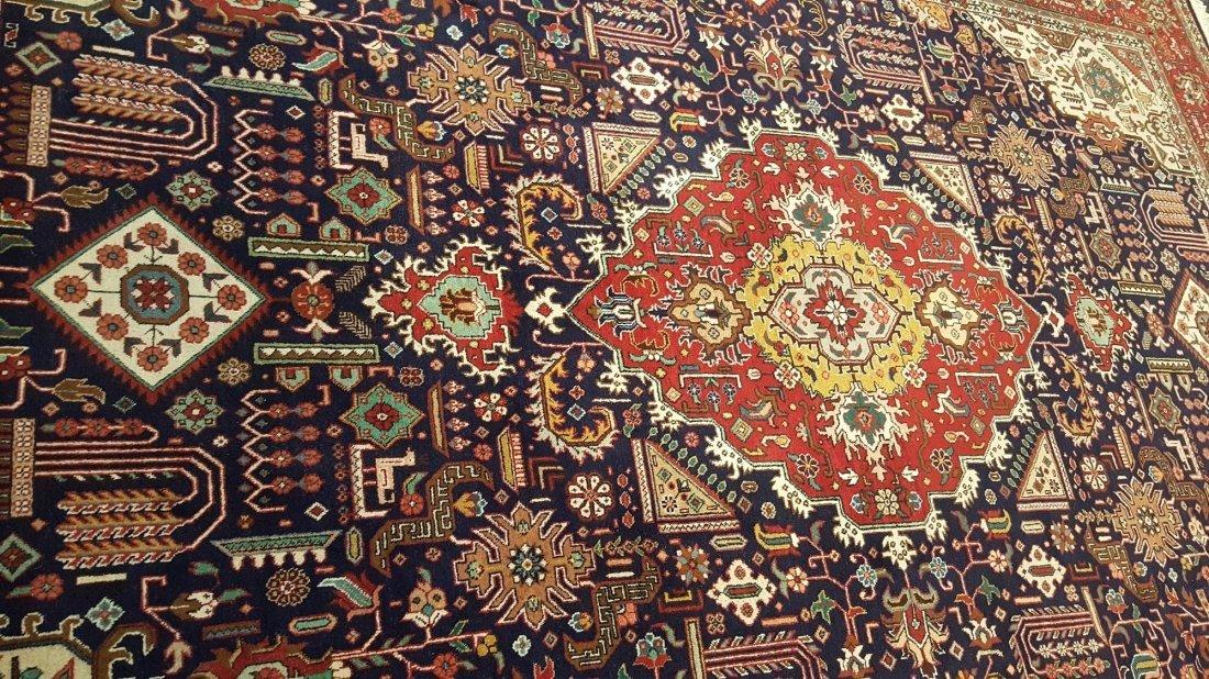 Persian Tabriz (joshgan) Rug carpet - 4