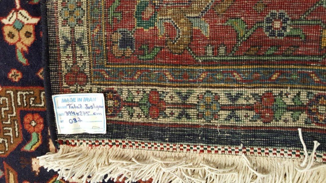 Persian Tabriz (joshgan) Rug carpet - 5