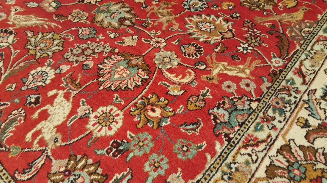 Persian Tabriz (Shah Abbasi) Rug carpet - 3