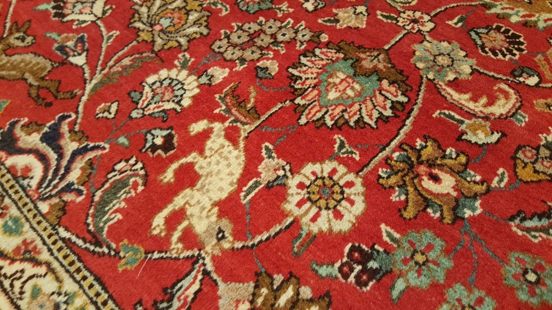 Persian Tabriz (Shah Abbasi) Rug carpet - 4