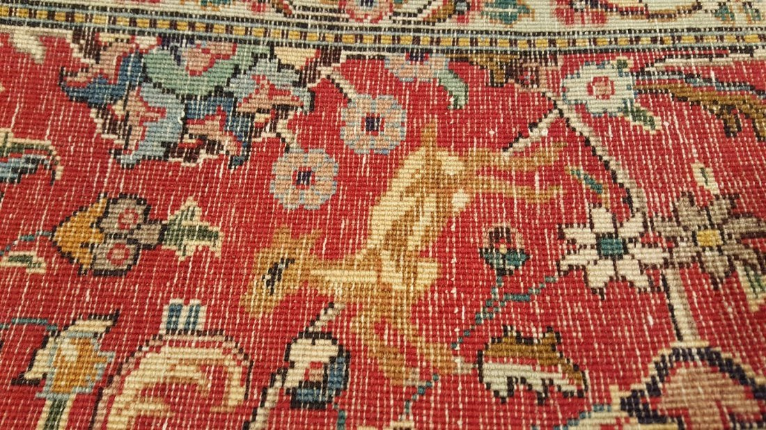 Persian Tabriz (Shah Abbasi) Rug carpet - 5