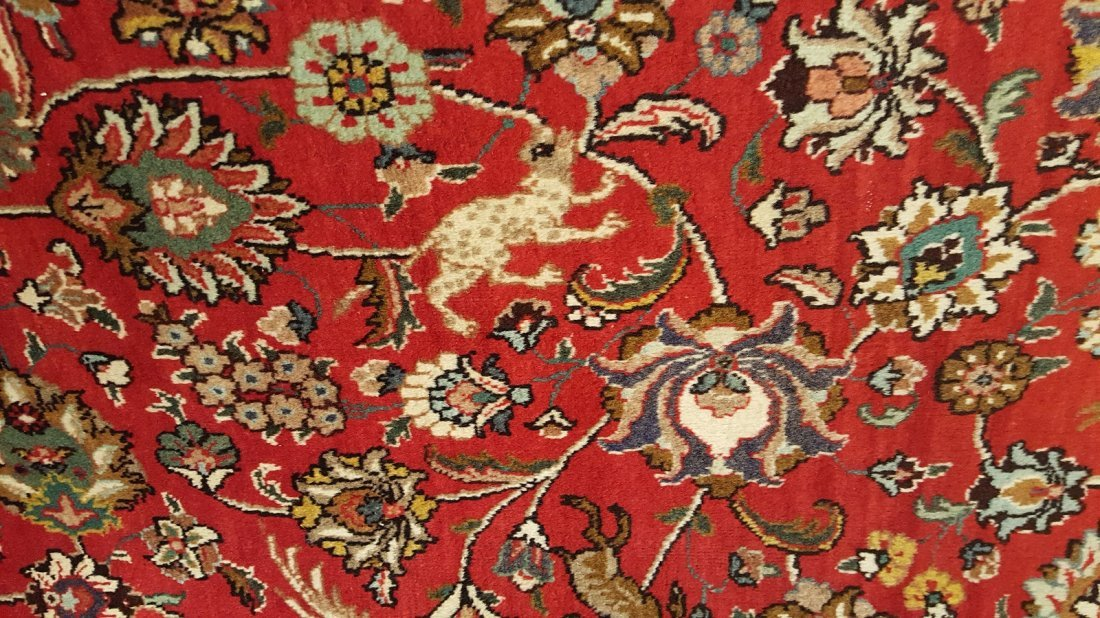 Persian Tabriz (Shah Abbasi) Rug carpet - 6