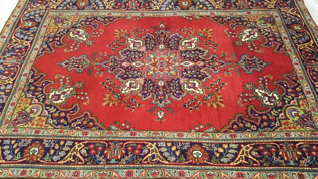 Persian TABRIZ Rug Carpet - 2
