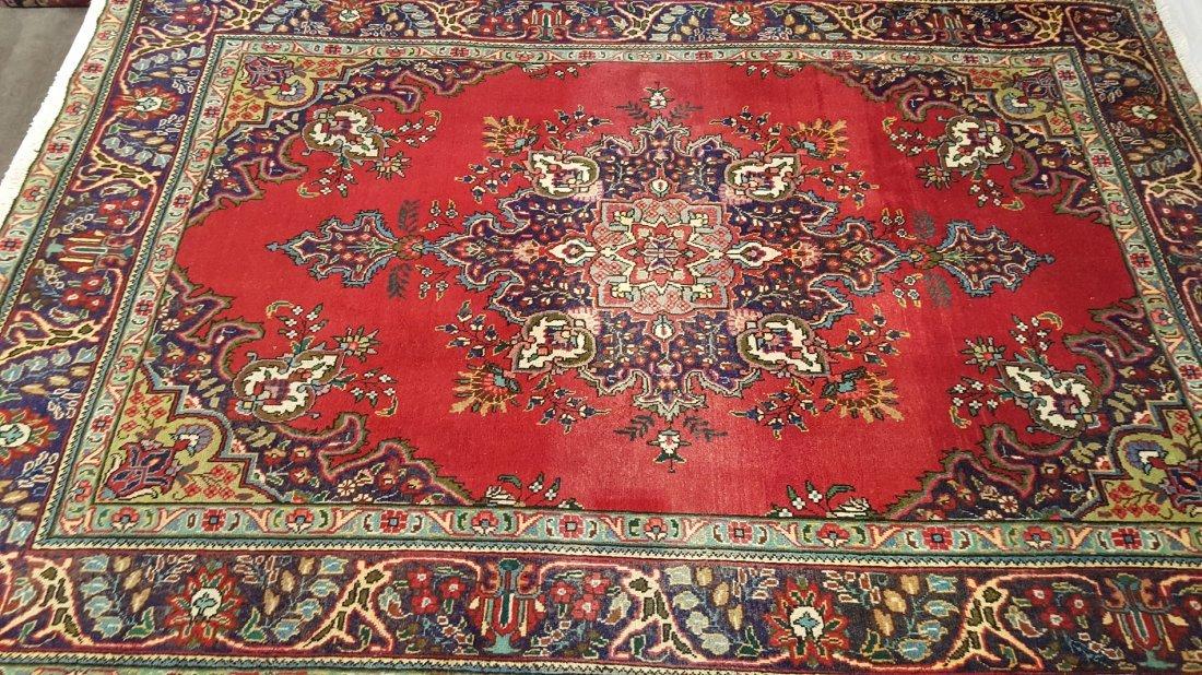 Persian TABRIZ Rug Carpet - 2