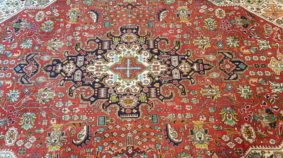 Persian TABRIZ Rug Carpet - 3