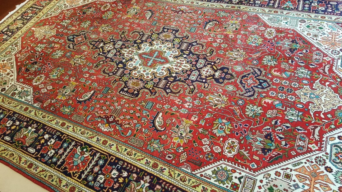 Persian TABRIZ Rug Carpet - 5