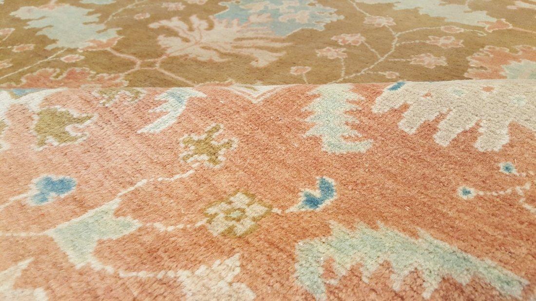 Persian Tabriz Ziegler Rug Carpet - 8