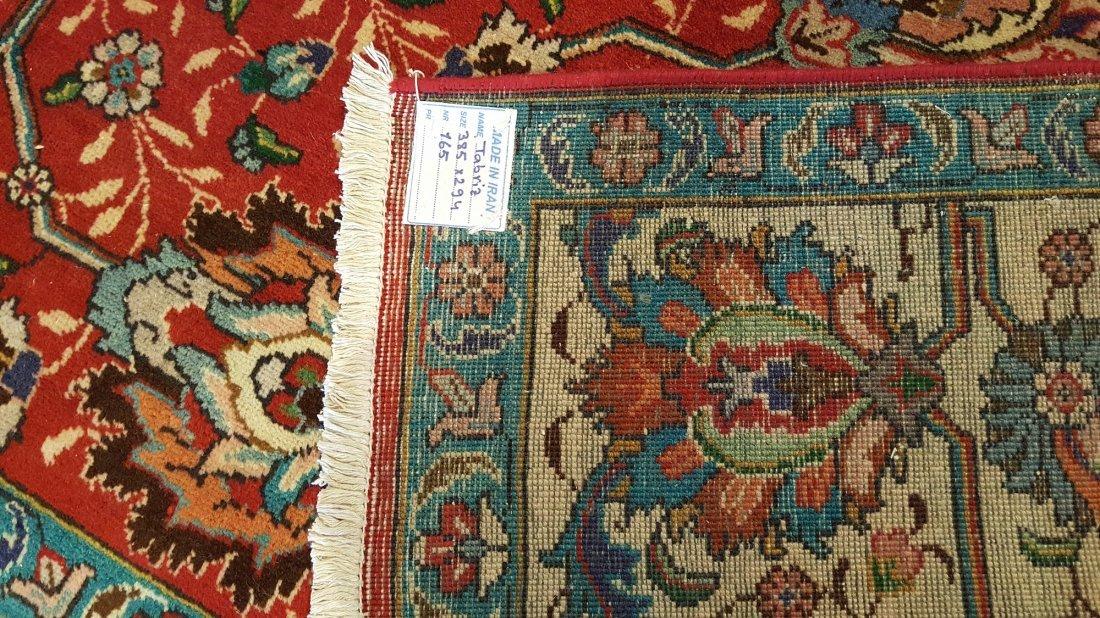 Persian Vintage Tabriz Rug Carpet - 4