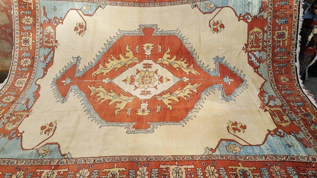 Persian Karaja Heriz Rug Carpet