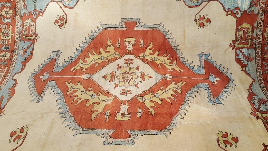 Persian Karaja Heriz Rug Carpet - 2
