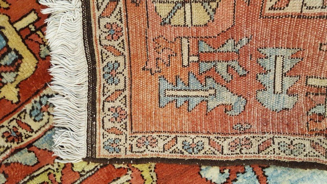 Persian Karaja Heriz Rug Carpet - 4