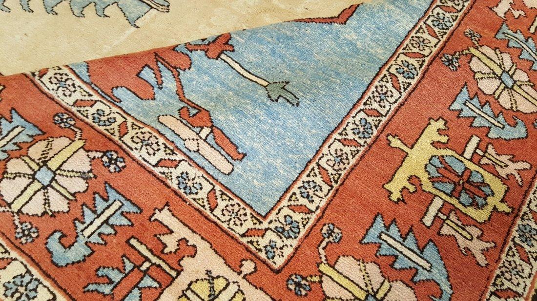 Persian Karaja Heriz Rug Carpet - 5