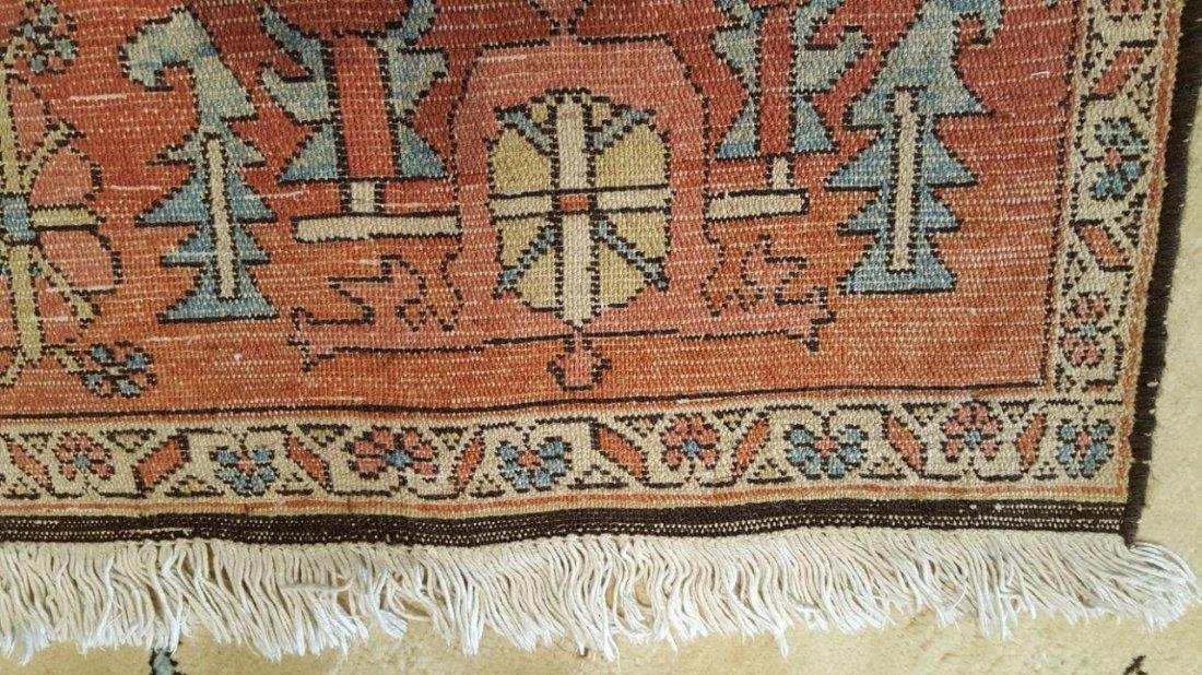 Persian Karaja Heriz Rug Carpet - 6