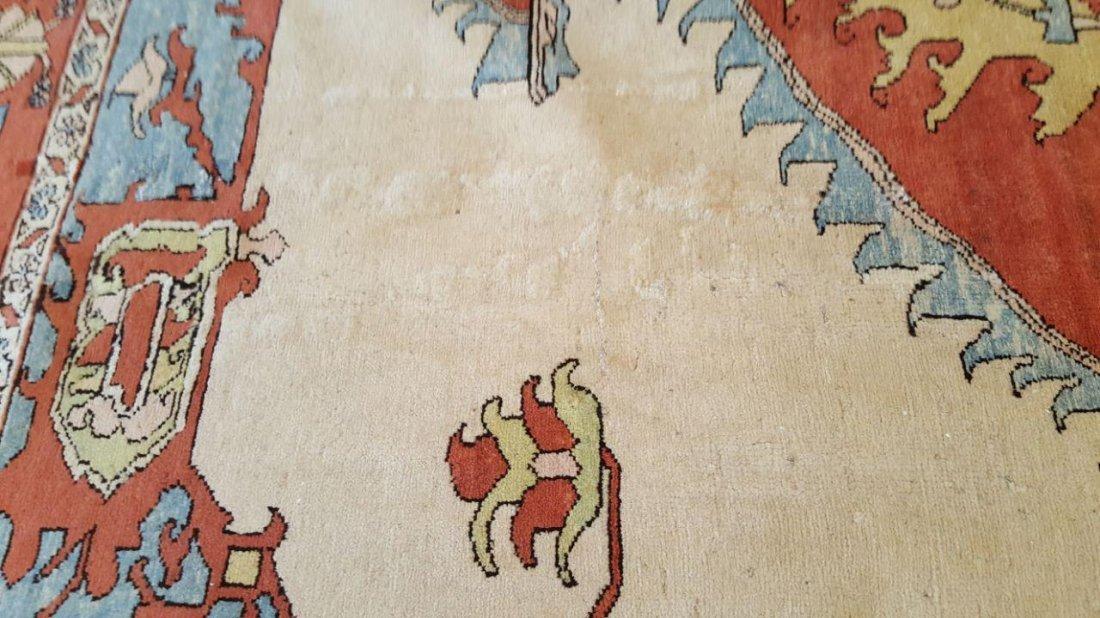 Persian Karaja Heriz Rug Carpet - 7