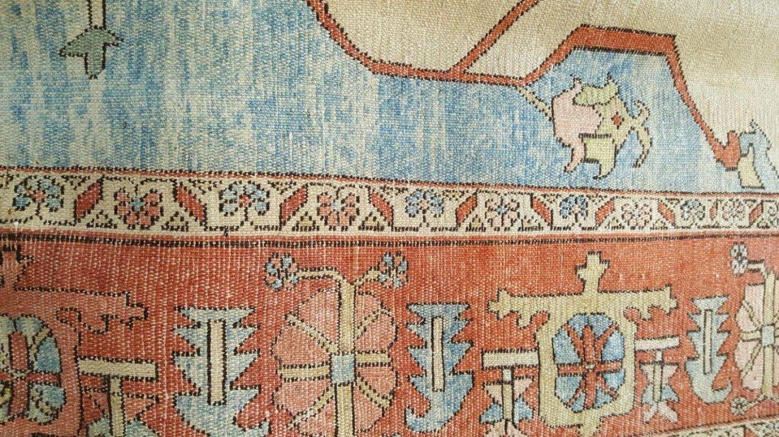 Persian Karaja Heriz Rug Carpet - 8
