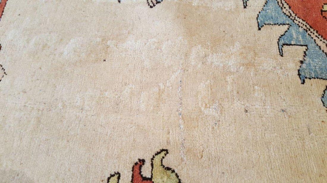 Persian Karaja Heriz Rug Carpet - 9