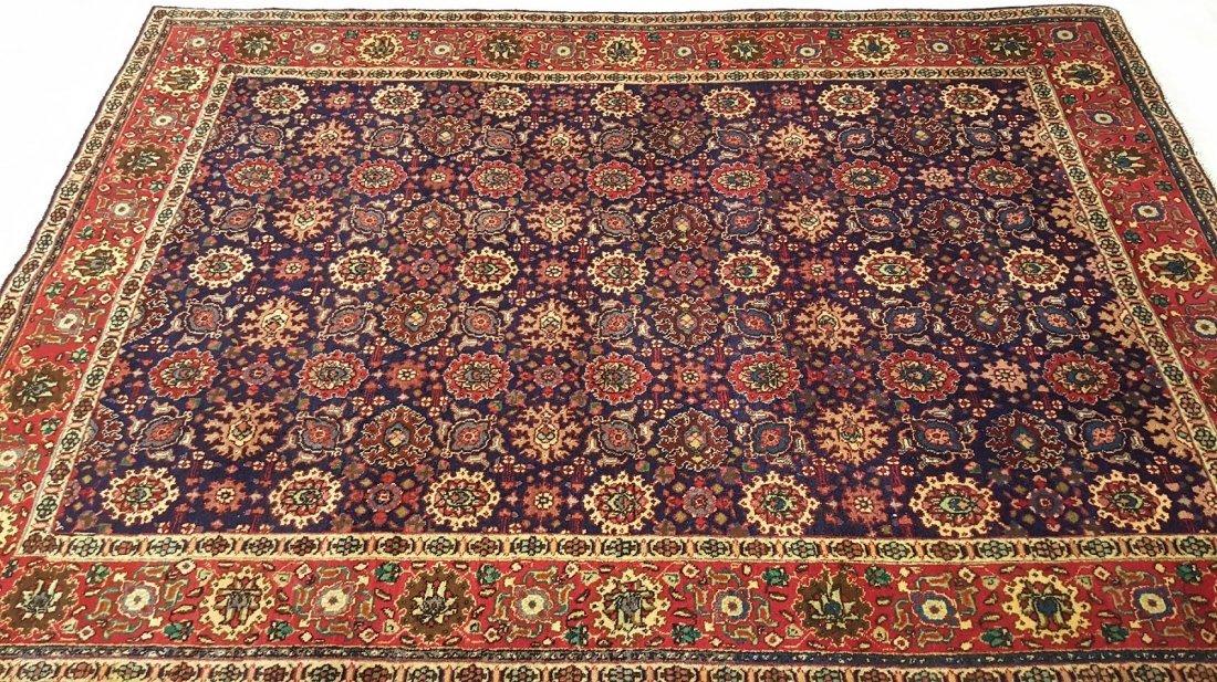 Persian Vintage Tabriz Rug Carpet