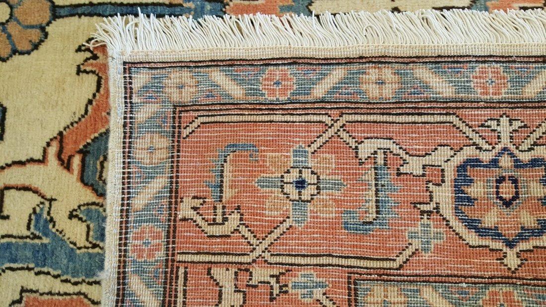 Persian Heriz Carpet Rug Tabriz knot - 2