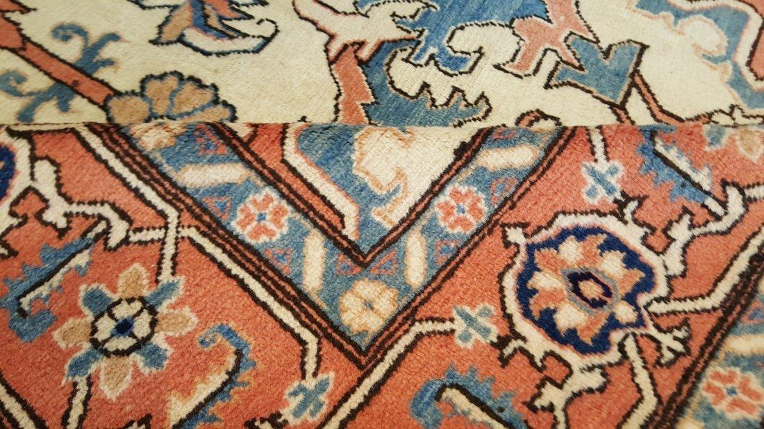 Persian Heriz Carpet Rug Tabriz knot - 3