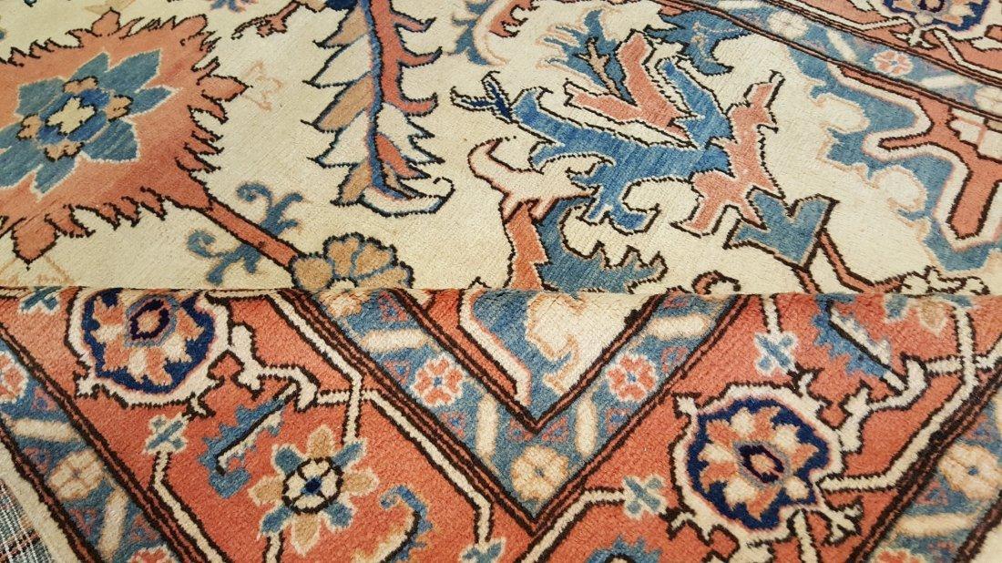 Persian Heriz Carpet Rug Tabriz knot - 4