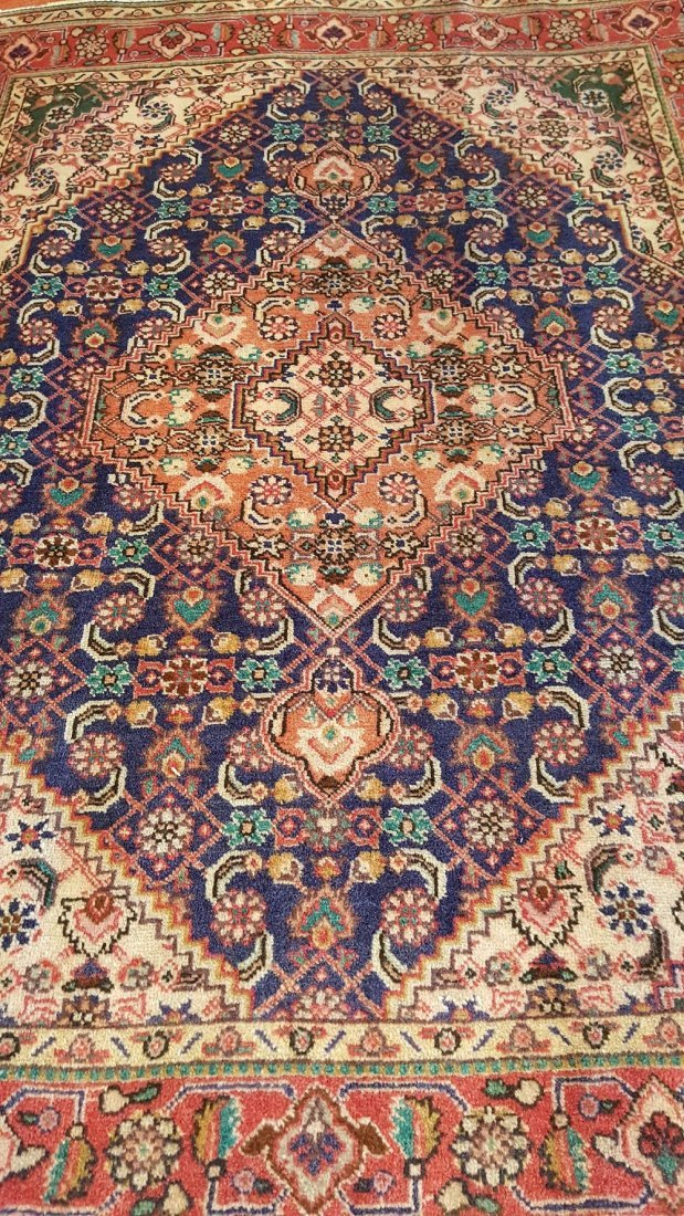 Persian TABRIZ Rug Carpet - 6