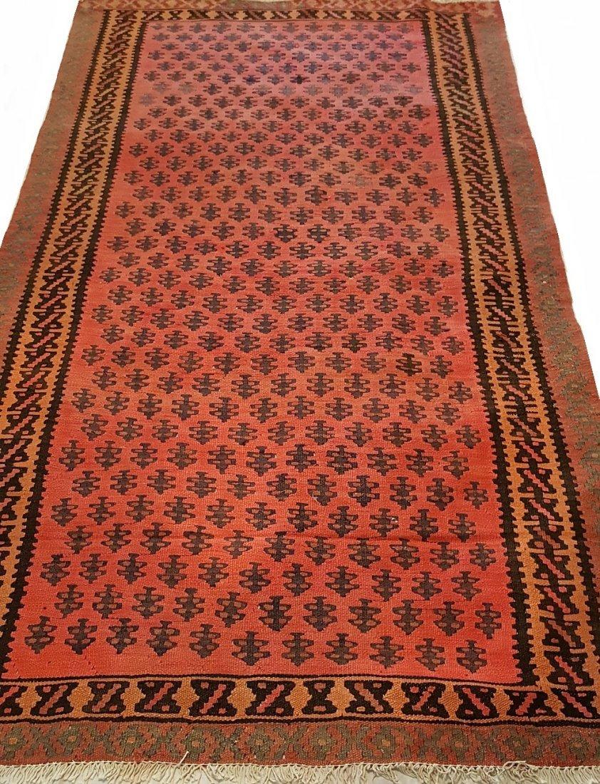 Persian Senneh Kilim Rug - 4