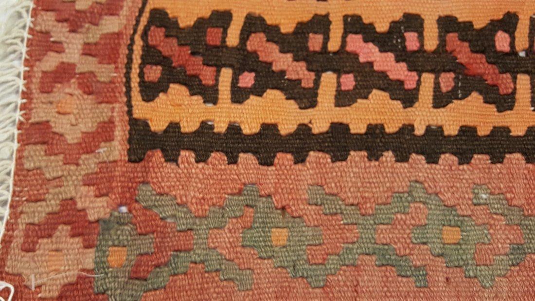 Persian Senneh Kilim Rug - 7