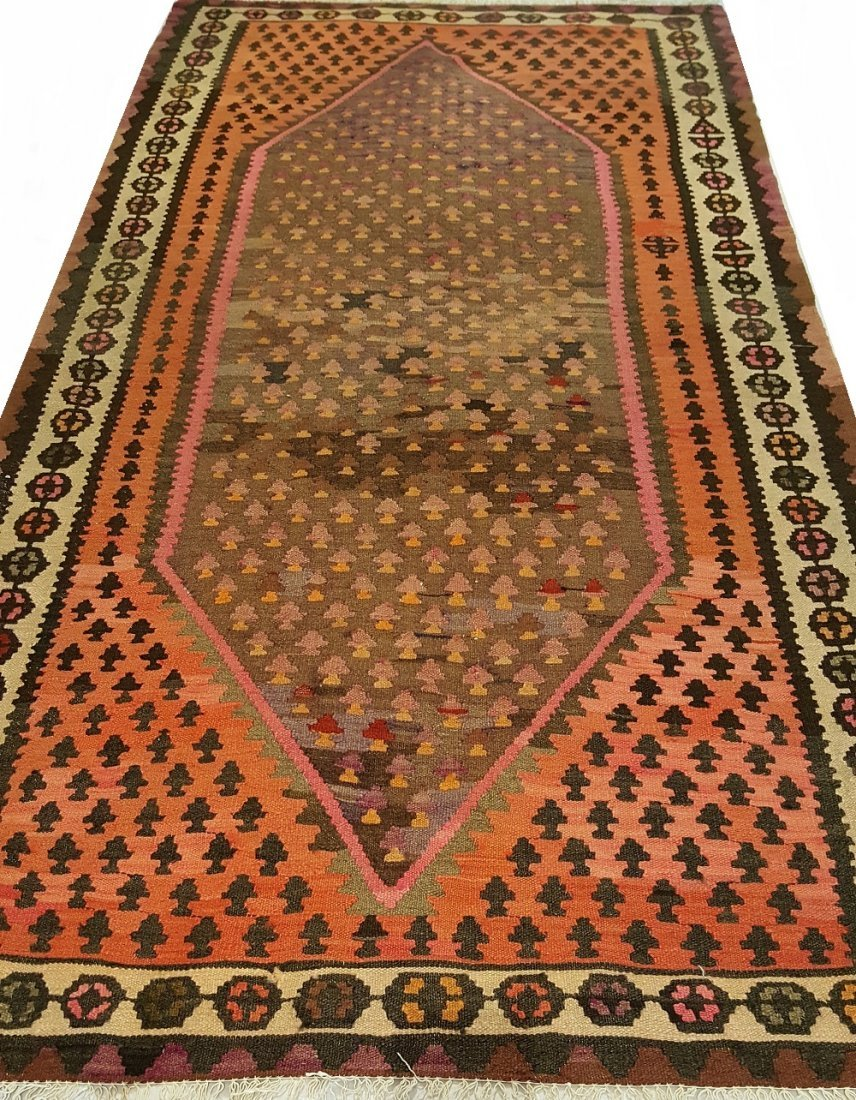 Persian Senneh Kilim Rug Carpet