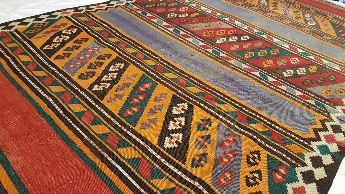 Persian ARDABIL Kilim Rug Carpet - 5