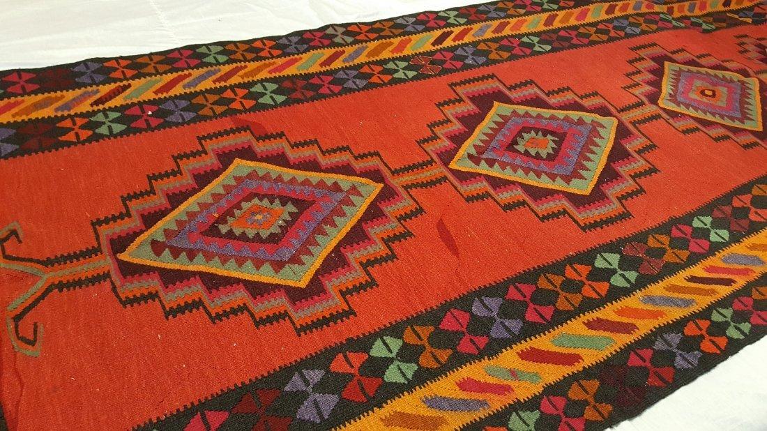 Persian Qashqai Kilim Rug Carpet - 5