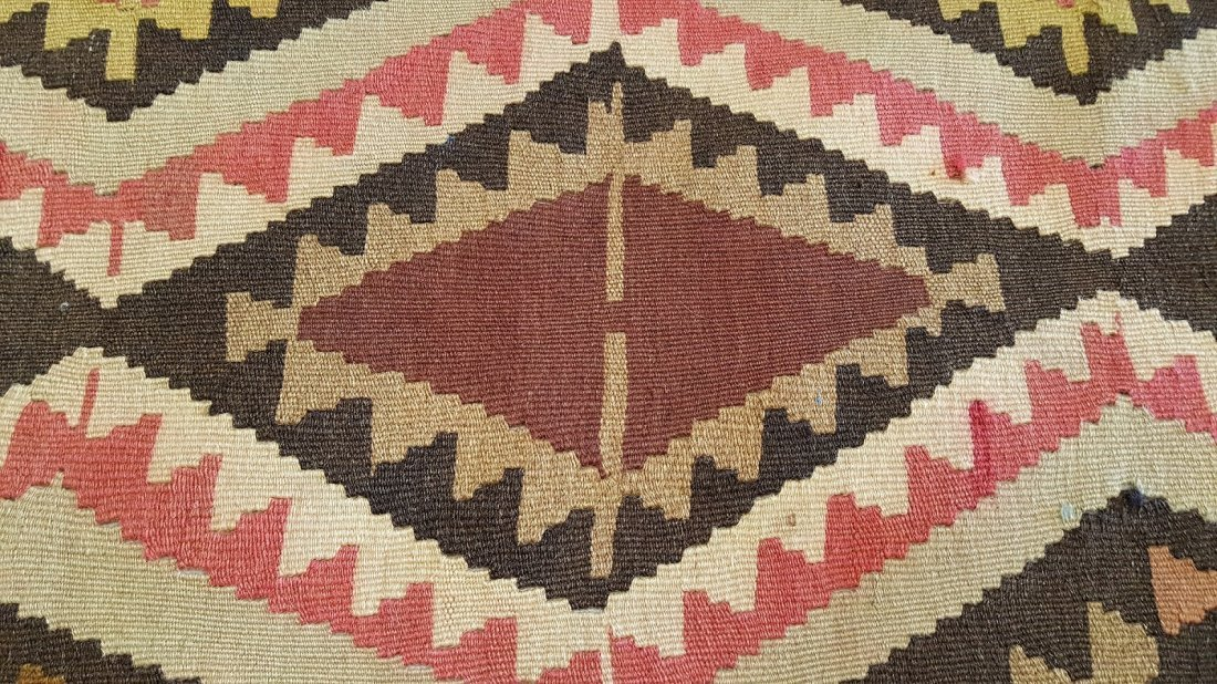 Caucasus Kilim Rug Carpet - 3