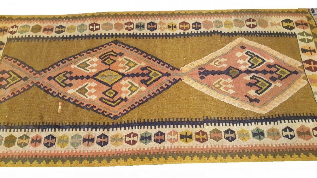 Persian Qashqai Kilim Rug Carpet - 6