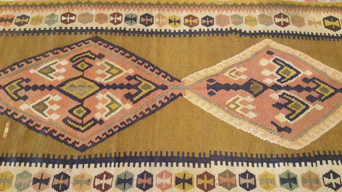 Persian Qashqai Kilim Rug Carpet - 7