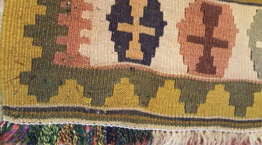 Persian Qashqai Kilim Rug Carpet - 8
