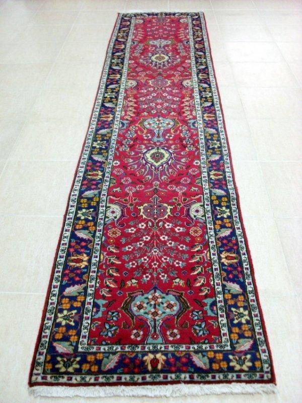 Fine Persian Tabriz Runner Rug Carpet