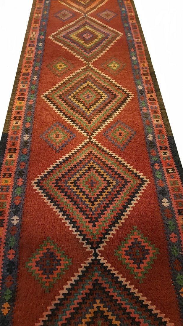 Persian Ardabil Runner Kilim Rug Carpet