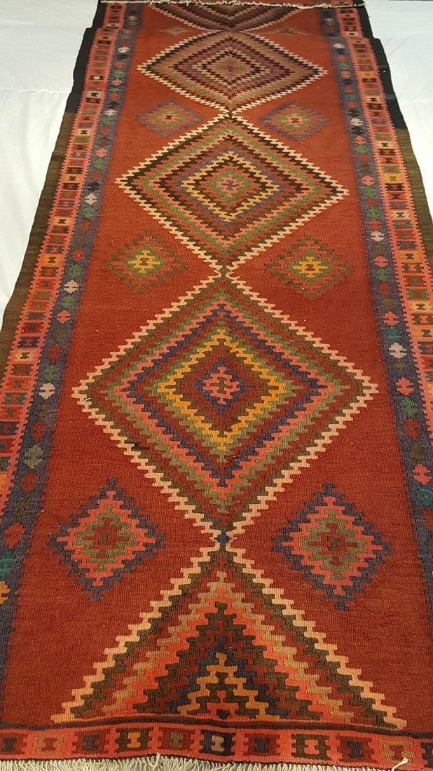 Persian Ardabil Runner Kilim Rug Carpet - 4