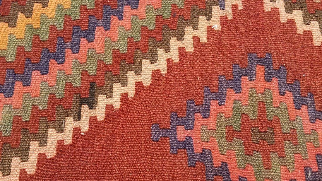 Persian Ardabil Runner Kilim Rug Carpet - 5